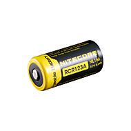 nitecore nl166 650mAh 3.7v 2.4wh 18650 li-ion genopladeligt batteri