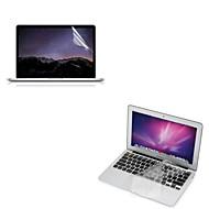 """A rendkívül vékony TPU puha billentyűzet védő fedél + védő világos képernyő őr 13.3 """"/15.4"""" MacBook Pro retina"""