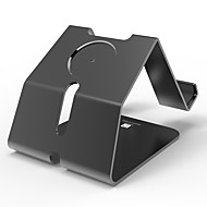Paifan horloge stand voor appelwatch serie 1 2 ipad iphone 7 6 6s plus 5s 5 5c 4 metalen stand all-in-1 38mm / 42mm kabel niet inbegrepen