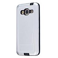 Για Προστασία από τη σκόνη tok Πίσω Κάλυμμα tok Μονόχρωμη Σκληρή Σιλικόνη για Samsung J7 J5 (2016) J5 J3 (2016)