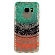 voor de Samsung Galaxy S8 plus s7 regenboog kant drukpatroon zacht TPU materiaal telefoon geval s6 s8