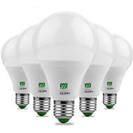 5pcs ywxlight® e27 5730smd 9w 18led 700-850lm branco quente branco brilhante super alto brilho levou bulbo (ac / dc 12-24v)