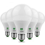 5pcs ywxlight® e27 5730smd 9w 18 λίτρων 700-850lm ζεστό λευκό δροσερό λευκό λαμπτήρα υψηλής λαμπρότητας (ac / dc 12-24v)