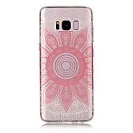 Για samsung galaxy s8 συν s8 tpu υλικό imd διαδικασία ροζ taro πρότυπο τηλέφωνο περίπτωση s7 άκρη s7 s6 άκρη s6 s5