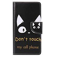 Veske til huawei p10 pluss p10 lite kortholder lommebok med stativ flip mønster full kroppsveske katt hard pu lær p10 p8 lite 2017 p9 lite