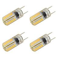3W LED-lamper med G-sokkel T 64 SMD 3014 260 lm Varm hvid Kold hvid V 4 stk.