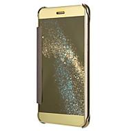 Voor huawei p8 lite (2017) p10 case cover plating spiegel drop clamshell telefoon hoesje p9 p8 p9 p10 lite g8 mate 7 8 9 g7 plus eer 8 5c