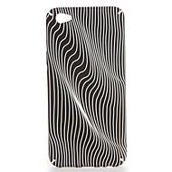 Til oppo r9s r9s plus r9 r9 plus tilfælde dækning mønster bagcover case linjer / bølger hard pc vivo x7