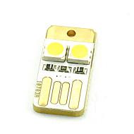 컴퓨터 키보드 조명 미니의 USB 모바일 전원 두 5050 통통한 부두 양면 따뜻한 흰색이나 시원한 흰색