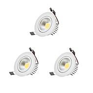 Oświetlenie downlight LED LED Zawiera żarówkę 3 sztuki