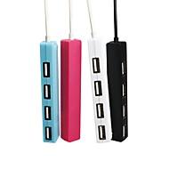 4 منافذ أوسب هاب USB 2.0 مع قارئ بطاقة (ق) مركز البيانات