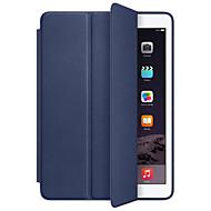 Für Hüllen Cover Stoßresistent Automatisches Schlafen/Aufwachen Handyhülle für das ganze Handy Hülle Volltonfarbe Hart Kunst-Leder für