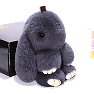 bag / phone / keychain charm rabbit 만화 장난감 렉스 토끼 모피 19cm