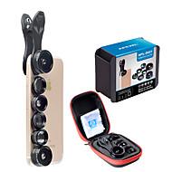 spiderholster dg7 mobiele telefoon lens met filter 2x lange brandpuntslens 198 vis-oog lens 0,36x 0,63x groothoeklens 15x macro lens