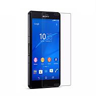 Karkaistu lasi Näytönsuojat varten Sony Sony Xperia Z3 Näytönsuoja Teräväpiirto (HD) 9H kovuus 2,5D pyöristetty kulma