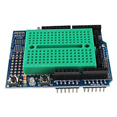 prototype schild met mini breadboard voor (voor Arduino) (ProtoShield)