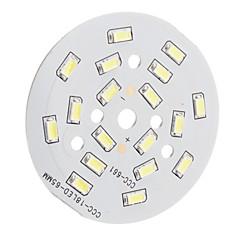 9W 900lm 18x5630SMD 6300K Hvid LED-modul (29-32V)