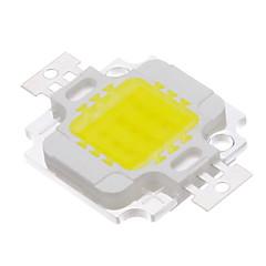 10W COB 820-900lm 6000-6500K Cool White Light LED Chip (9-12V)