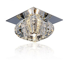 20W Modern/kortárs Kristály / Mini stílus Mennyezeti lámpa Nappali szoba / Hálószoba / Étkező