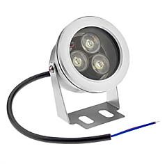 9W Vízalatti világítás 3 Nagyteljesítményű LED 800 lm Hideg fehér Vízálló AC 12 V