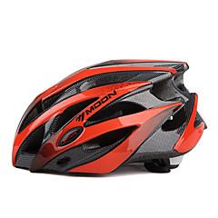 MOON Kadın's Erkek Unisex Bisiklet Kask 25 Delikler Bisiklet Dağ Bisikletçiliği Yol Bisikletçiliği Bisiklete biniciliğiL: 58-61CM M: