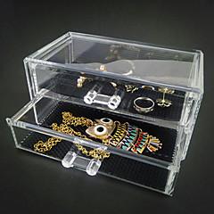 Pudełka na biżuterię / Wystawy biżuterii Akrylowy Bezbarwny