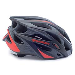 Unisex - Yarım Kabuk - Bisiklete biniciliği / Dağ Bisikletçiliği / Yol Bisikletçiliği / Eğlence Bisikletçiliği - Kask (Kırmızı / Siyah ,