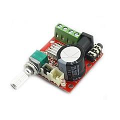 mini digital audio-forstærker 10w + 10w / 2-kanals forstærker / DIY modul klasse d hifi 2.0 (DC12V)