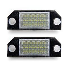 auto nummer kenteken lampen wit 24 led verlichting lampen voor ford focus 2 c-max