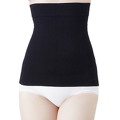 Corrigerend ondergoed Ademend / Draagbaar / Anti-Dons Nylon / Spandex / Chinlon Naadloos / Glad / naadloos Hoge taille  Middel Zwart
