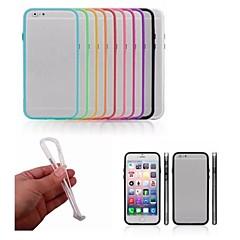 Til iPhone 8 iPhone 8 Plus iPhone 6 iPhone 6 Plus Etuier Stødsikker Stødfanger Etui Helfarve Hårdt PC for iPhone 8 Plus iPhone 8 iPhone