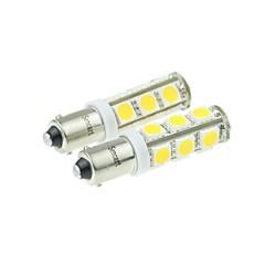 BA9S Motocykl Samochód Ciężarówki i przyczepy Ciepła biel 7W SMD LED High Performance LED 3000-3500Światła obrysowe Włącz sygnał świetlny