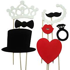 8 τεμαχίων γάμου στηρίγματα κάρτα φωτογραφικό χαρτί περίπτερο / κόμμα διασκέδαση υπέρ