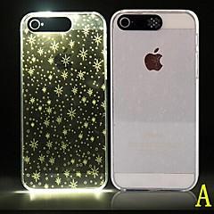 For iPhone 6 etui iPhone 6 Plus etui Etuier LED Mønster Bagcover Etui Geometrisk mønster Blødt PC foriPhone 6s Plus iPhone 6 Plus iPhone