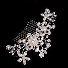 Kobiety Flower Girl Stop Winieta-Ślub Piękny Przypadkowy Hair Combs