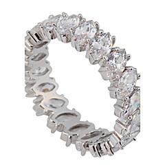 여성용 문자 반지 러브 고급 보석 신부 의상 보석 지르콘 보석 모조 다이아몬드 보석류 보석류 제품 결혼식 파티 일상 캐쥬얼