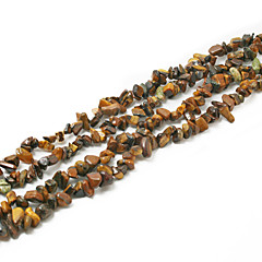 """beadia tigris szeme kő gyöngyök 5-8mm szabálytalan alakú DIY kiszóródott fit nyaklánc karkötő ékszerek 34 """"/ str"""