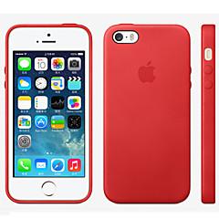 Käyttötarkoitus iPhone 8 iPhone 8 Plus iPhone 5 kotelo kotelot kuoret Other Takakuori Etui Yhtenäinen väri Kova Nahka varten iPhone 8
