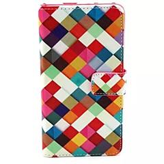Mert Samsung Galaxy tok Kártyatartó / Állvánnyal / Flip / Minta / Mágneses Case Teljes védelem Case Mértani formák Műbőr SamsungA7 / A5 /