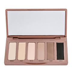 6 Oogschaduwpalet Droog / Mat Oogschaduw palet Poeder Normaal Dagelijkse make-up / Halloween make-up