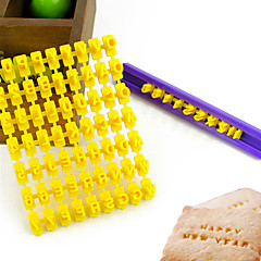 Alphabet Buchstaben Nummer Keks Ausstecher Pressstempel Prägekuchenform (26 Buchstaben + Zahlen)