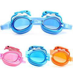 Made In China Úszás Goggles Gyermek Páramentesítő / Vízálló / Állítható méret Acetát Akril Rózsaszín / Kék / NarancssárgaRózsaszín / Kék
