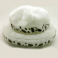 Hat/Kasket Inspireret af One Piece Trafalgar Law Anime Cosplay Tilbehør Hat Hvid Polar Fleece Mand / Kvindelig