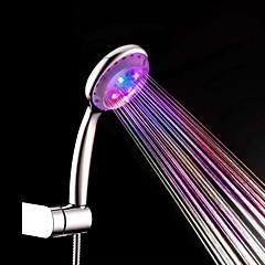 ABS vezetett színváltó kézi zuhany