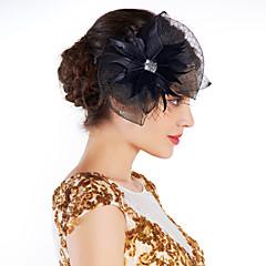 Γυναικείο Φτερό Στρας Δίχτυ Headpiece-Ειδική Περίσταση Διακοσμητικά Κεφαλής