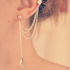Dames Druppel oorbellen Eenvoudige Stijl Kostuum juwelen Legering Sieraden Voor