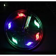 Światła rowerowe , Światła tylne - 2 Tryb other Lumenów Łatwy do przenoszenia / Kolory zmieniają CR2032 x 1 Baterie Kolarstwo Bílá Rower
