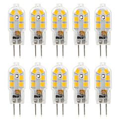 Ywxlight® 10 stk g4 2,5w 14 * 2835smd 250lm varm / kølig hvid t dc 10-12v / ac 220-240v