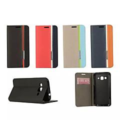 retro fashion luxe lederen flip portemonnee stand geval voor Galaxy Core 2 / ace 4 / win / grand 2 / kern prime / ace 3 / trend duos