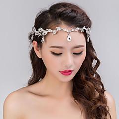 Łańcuszek na głowę-Dla kobiet-Vintage / Imprezowa-Kryształ górski